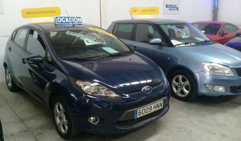Ford Fiesta 1.4, year 2013, one owner car with 124,000km, music, air conditioning etc, sold with 1 year guarantee, asking 4,995e. Tel 922 736451